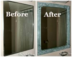 How To Frame A Medicine Cabinet Mirror