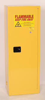Yellow Flammable Cabinet Eagle Flammable Liquid Safety Storage Cabinet 24 Gal Yellow