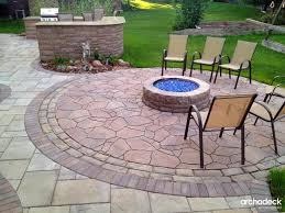paver patio designs with fire pit 63 best firepit images on