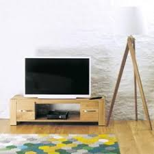 buxton oak widescreen television cabinet aston solid oak hidden