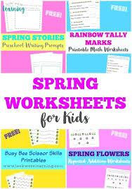 Spring Worksheets For Kindergarten Color By Number Spring Worksheet ...