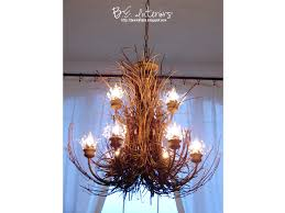 twig chandelier by b e interiors