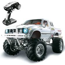 hg p407 1/10 2.4g 4wd rally rc car for toyato metal 4x4 pickup truck ...