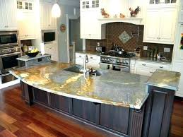 how much does a granite kitchen island cost countertop overhang with regard to prepare 18