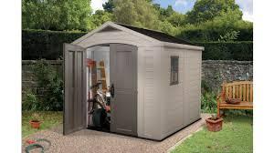 8 8 storage sheds plastic garden