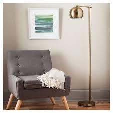 floor lighting for living room. modern globe floor lamp brassy gold -threshold™ lighting for living room