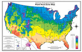 the accompanying map has been reproduced with permission of the american horticultural society