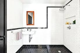 shower liner installation black and white bathroom with open shower shower pan liner installation instructions