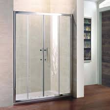 image of direct sliding shower doors