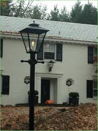 lovely outdoor gas lamp for lighting post and wall mounted open flame old lamps decorate the
