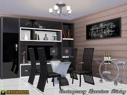 contemporary luxurious dining room modern wall art on the sims resource sims 3 wall art with canelline s contemporary luxurious dining room modern wall art