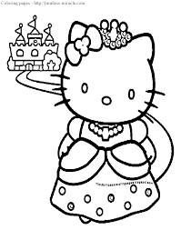 Small Picture Princess Cat Coloring Pages Coloring Coloring Pages
