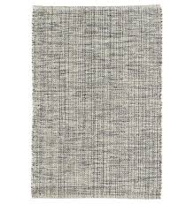 dash albert marled indigo woven cotton rug