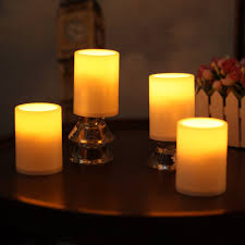 plastic lighting. amazoncom home impressions 3x4 inches flameless plastic pillar led candle light with timerbattery operatedivorypack of 4 improvement lighting