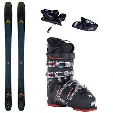 Salomon Qst 99 Size Chart Salomon Qst 99 Complete Package Skis Boots Bindings