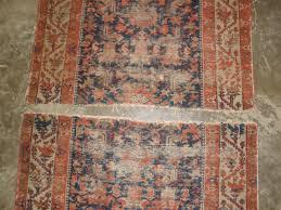 persian antique rug restoration