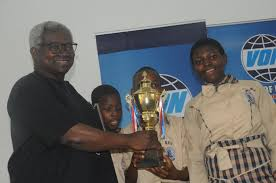 2nd edition of the voice of nigeria annual national secondary s french drama peion photo credit usman i