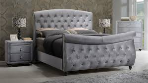 upholstered leather sleigh bed. Best Home: Captivating Tufted Sleigh Bed Of Harmony Upholstered Natural Beds From Leather E