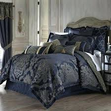 blue and gold comforter photo 4 of 9 attractive bedding sets king size 4 comforter set