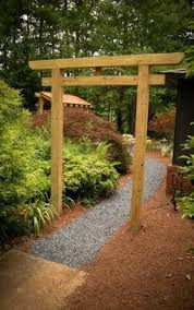 Small Picture Construct a Japanese Torii Gate for Your Garden Gardens and