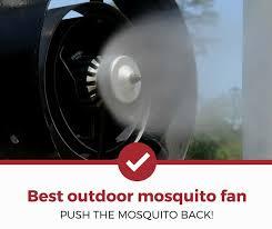 best outdoor mosquito fan