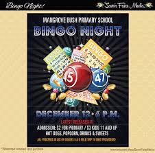 Fundraiser Poster Ideas Bingo Flyer Bingo Night Poster Template Church School Community