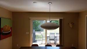 moved a ceiling light stuck with