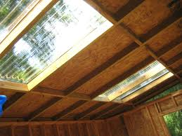 plastic corrugated roofing i made the skylights with plastic corrugated roofing panels lots of natural light