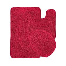 marvelous red bath rugs resolutionwall with regard to bathroom plain 19