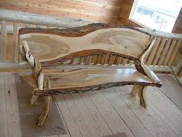 unique rustic furniture. Rustic Bench Furniture Unique U
