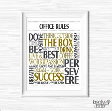 Inspirational Quotes About Success Gorgeous Office Wall Art Motivational Wall Decor Inspirational Quote Etsy