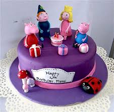 Miras Online Peppa Pig Theme Birthday Cakes For Kids I Order Online