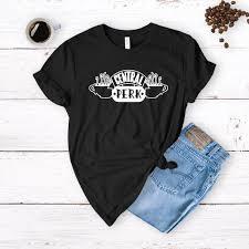 Friends Tv Show Central Perk T Shirt Central Perk Coffee Shop Shirt Friends Show Cafe Shirt Popular Friends Shirt Central Park Shirt