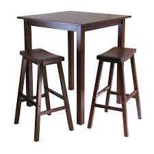 amazoncom winsome's parkland piece square highpub table set