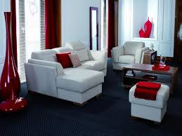 Red White And Black Living Room Contemporary Living Room The Best Design Ideas With Mid Century