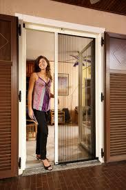 larson retractable screen door. Larson Double Retractable Screen Door T