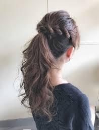 今年の夏はモテヘア前髪なしポニーテールに決まり Arine アリネ