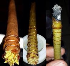 how to spread wax on a blunt