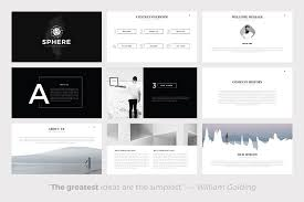 The 24 Best Minimalist Powerpoint Templates Of 2018