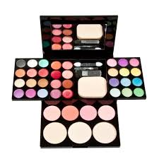 makeup kit set. integrated eyeshadow blusher lipstick face powder cosmetic makeup palette set kit