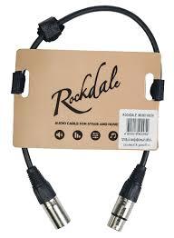 <b>Rockdale</b> MC001-<b>50CM</b> - готовый микрофонный <b>кабель</b>, разъёмы ...