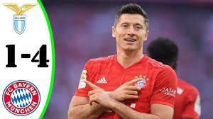 Lazio vs Bayern München 1-4 Highlights | UEFA Champions League - 2020/21 -  YouTube