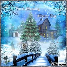 Snow Animated Good Morning Winter Day Winter Animated Snow Good Morning Good