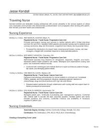 Travel Nurse Job Description Or Cology Nurse Resume Awesome ...