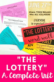 best short stories to teach in middle school images the lottery by shirley jackson short story unit