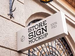 Free Sign Signs Mockups Free Mockup