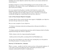 Does A Resume Need An Objective Fine Do Resumes Need Objective Statements Images Example Resume 98