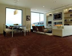 dark wood grain pvc vinyl flooring 5mm for office ping mall eco friendly