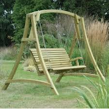 Impressive Garden Furniture Swing Seat Wood Garden Swing Seat ...