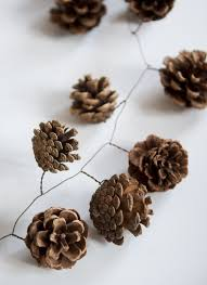 Pine Cone Candles Pine Cones Floral Wire Spray Paint The Cones First And Add